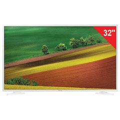 "Телевизор SAMSUNG 32"" (81,2 см) 32N4510, LED, 1366x768 HD, Smart TV, Wi-Fi, HDMI, USB, белый, 6,1 кг"