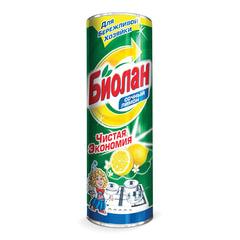 """Чистящее средство 400 г, БИОЛАН """"Сочный лимон"""", порошок"""